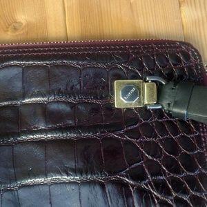 Lanvin Bags - Lanvin Bag Clutch Zip Crocodile Effect Calfskin LG